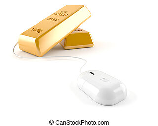 Gold ingot character