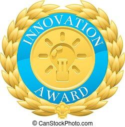 Gold Innovation Winner Laurel Wreath Medal