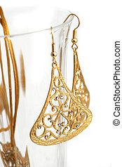 gold jewelry - golden jewelry with diamonds