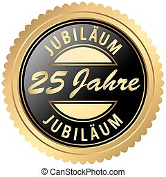 gold jubilee seal - round seal colored black and gold for ...