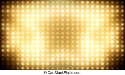 Gold led loop animated VJ background