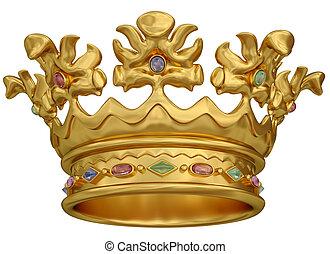 gold lombkorona