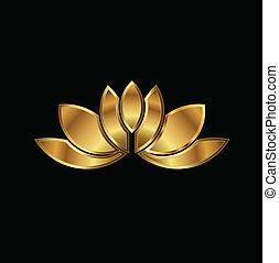 Gold Lotus plant image
