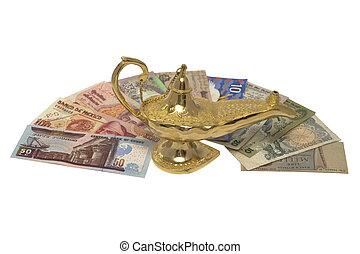 Gold Magic Lamp