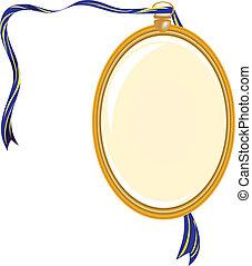 Gold medallion