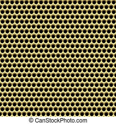 gold mesh - a large sheet of a background gold metal grid or...