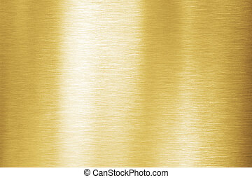 Gold metal brushed texture or background