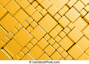 Gold metal plate background