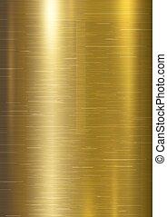 Gold metal texture background vector illustration