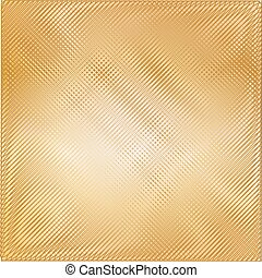 Gold metal texture background. Vector illustration