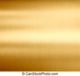 gold metal texture - Gold brushed metal texture or...