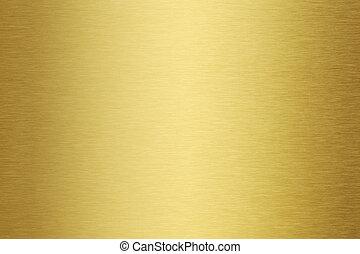 gold metal texture - Golden brushed metal texture or...