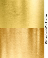 gold metal textures stitched set