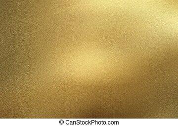 gold, metall, abstrakt, boden, beschaffenheit, hintergrund, rauh