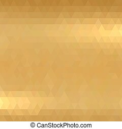 Gold metallic background.