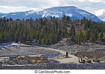 Gold Mine in Colorado - Colorado Located Large Gold Mine. ...