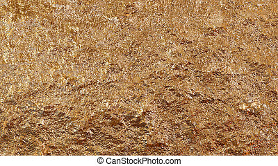 gold mine texture - The glisten of abstract golden...
