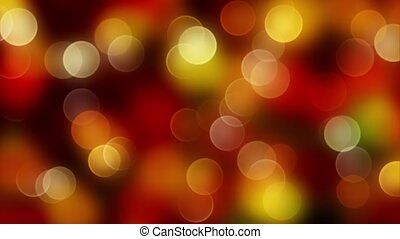 Gold mix red abstract bokeh background with defocused...