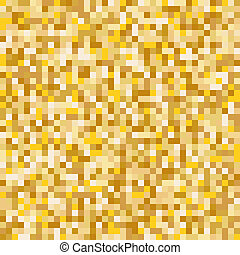 Gold mosaic abstract background