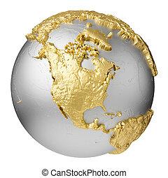 Gold North America