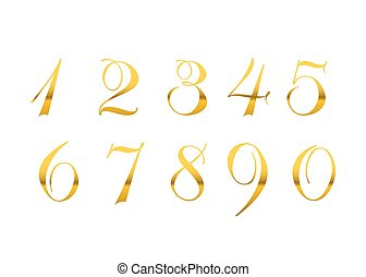 Gold numbers isolated