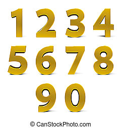 Gold numbers set