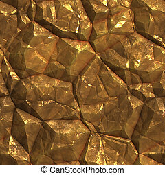 Gold ore deposits texture - Gold golden metal ore deposits...