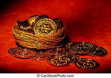 gold pénzdarab