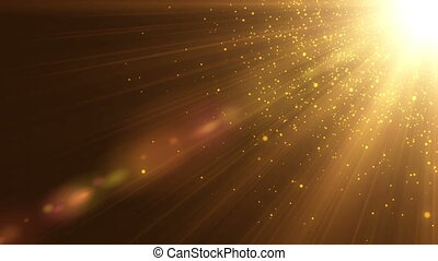 Gold Particles seamless background