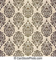 Gold patina baroque pattern - Gold patina antique baroque...