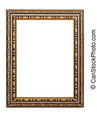 gold-patterned, フレーム, ∥ために∥, a, 映像
