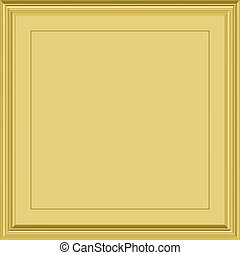 gold plaque - shiny gold framed plaque for certificates...