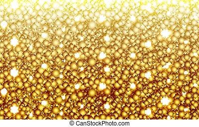 Gold-plated sparkling background
