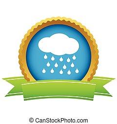 Gold rain logo