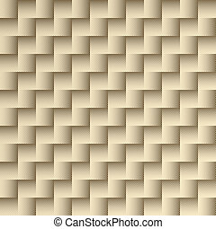 Gold repeating checkered pattern