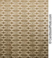 Gold Retro Pattern Design Wallpaper Swatch