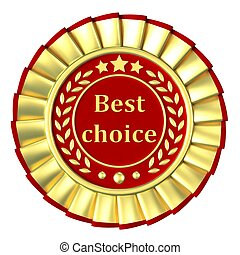 Gold Ribbon Award labeled the best choice