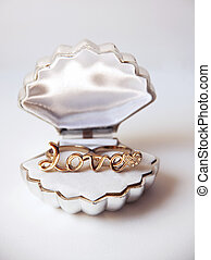 gold ring in a box