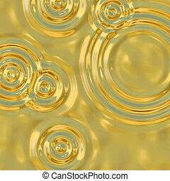 gold ripples - a very large illustration of ripples in...
