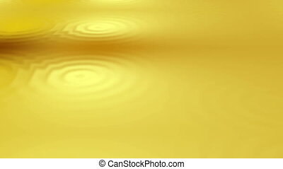 Gold ripples background