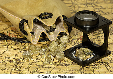 Gold Rush Concept