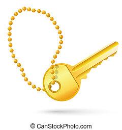 gold schlüssel