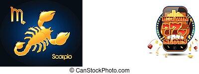 Gold scorpio zodiac astrology sign - Golden scorpio zodiac...