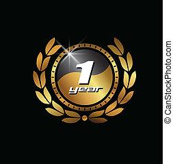 Gold Seal 1 year image logo