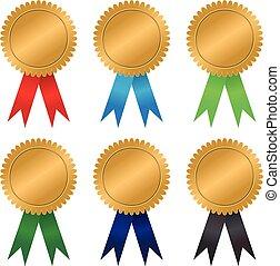 Gold Seal Award Ribbons