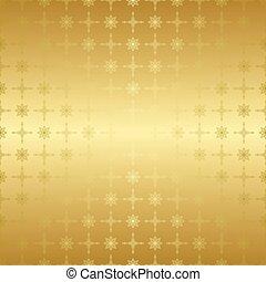 gold seamless geometric pattern - vector