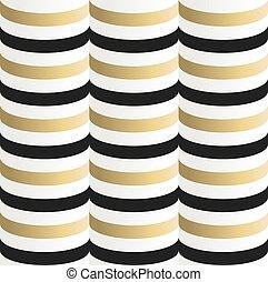 Gold seamless pattern geometry background