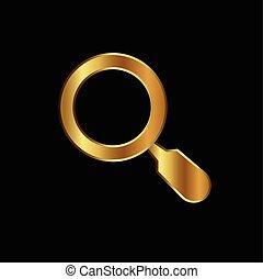 Gold search logo
