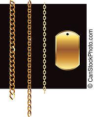 Gold set chain