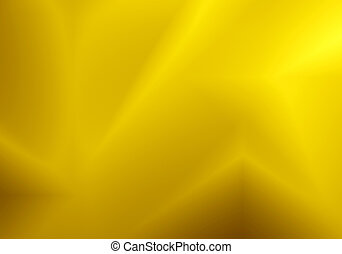 Gold shape curve with line blur pattern abstract background.